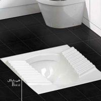 توالت زمینی چینی کسری مدل بایکال